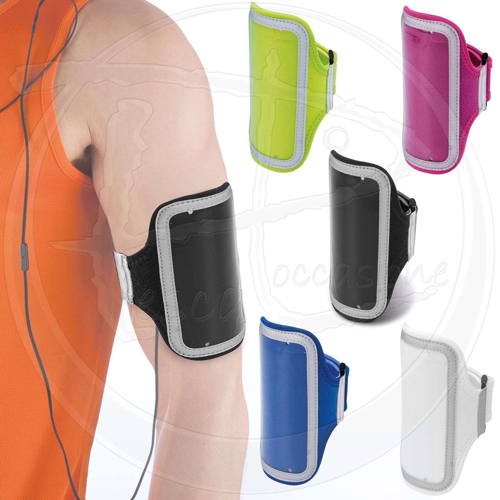 Porta smartphone da braccio con finestra touchscreen sport - Porta ipod da braccio ...