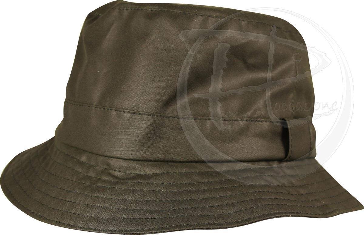 cappello da pescatore cerato diametro 60 verde ottimo per caccia e ... 77717dffdcab